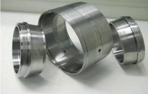 Machined parts for the rail sector