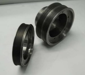 Manufacturer of cast iron pulley for the public works sector