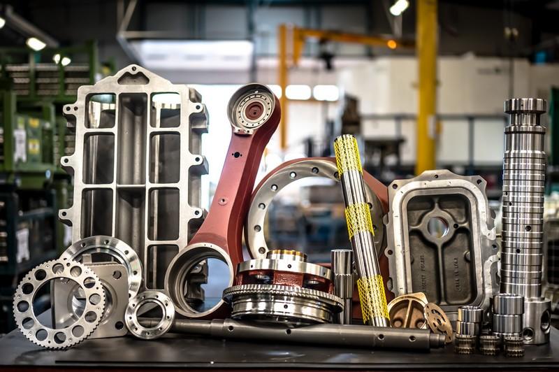 Usinage de pièces ferroviaire, robotique, roulement, hydraulique