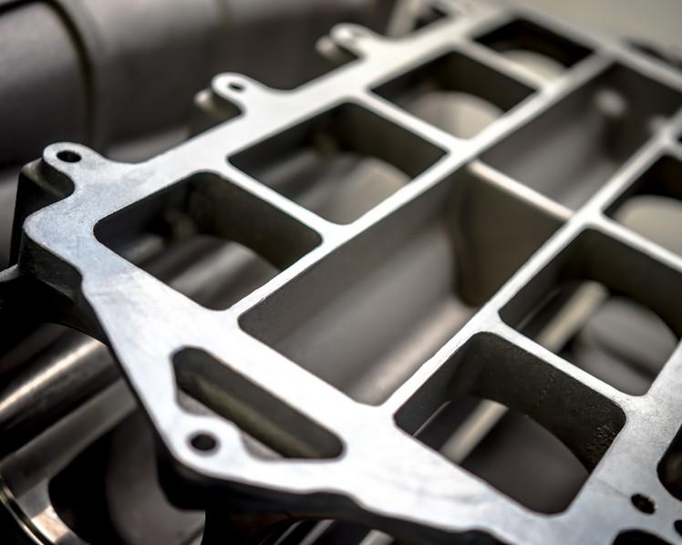 carter de circuit de refroidissement en fonderie aluminium